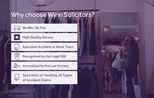 Why choose Winns to handle your retail accident claim?
